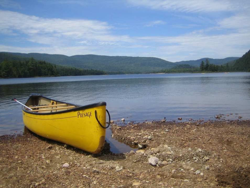 Canoeing Mont Tremblant Mont Tremblant  Canada