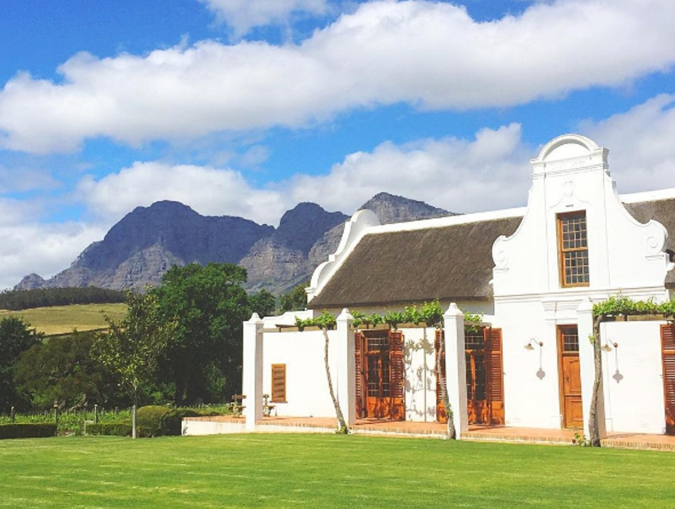 One of the Most Beautiful Vineyards in the World Paarl  South Africa