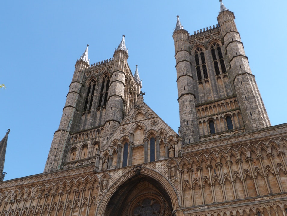 Touring the Towers of Lincoln Cathedral Lincoln  United Kingdom