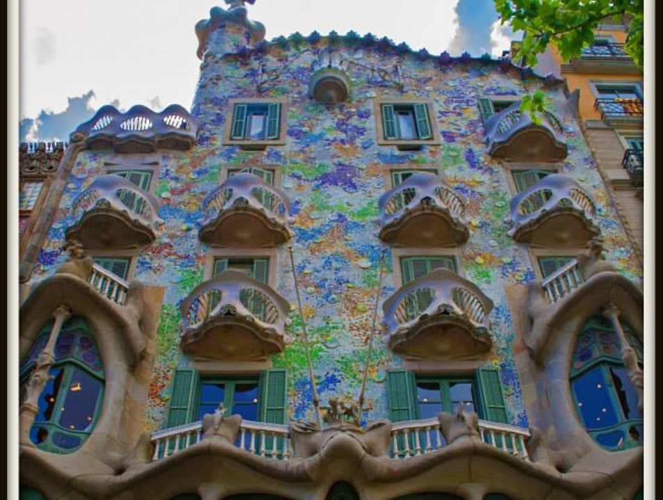 Colorful Whimsy Barcelona  Spain