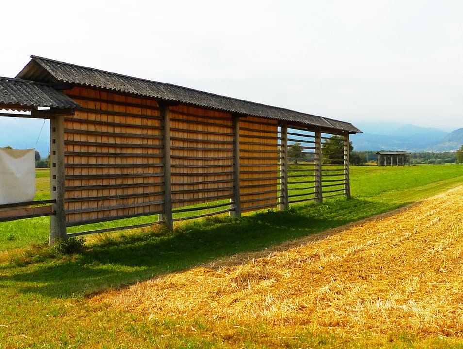 Slovenia's national hayrack