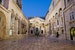 Peristyle At Dawn Split  Croatia