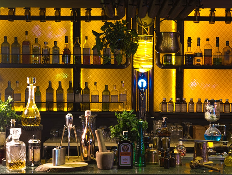 New Age Cocktail Bars Marrakech  Morocco
