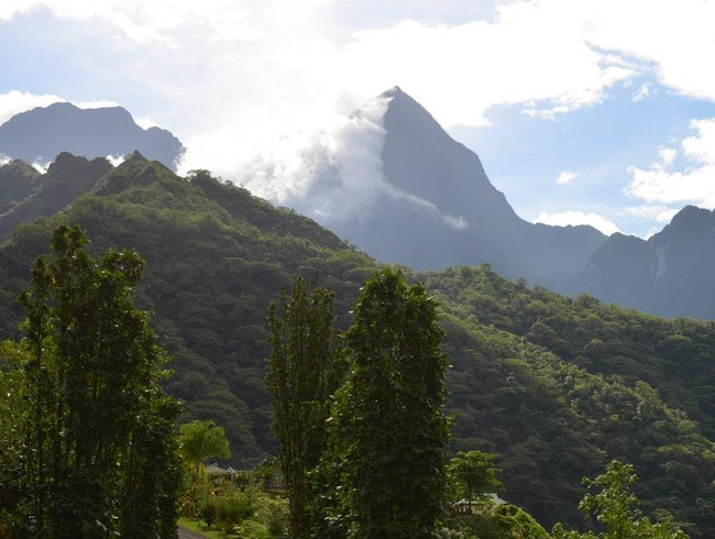 Exploring the Maroto Valley on Tahiti