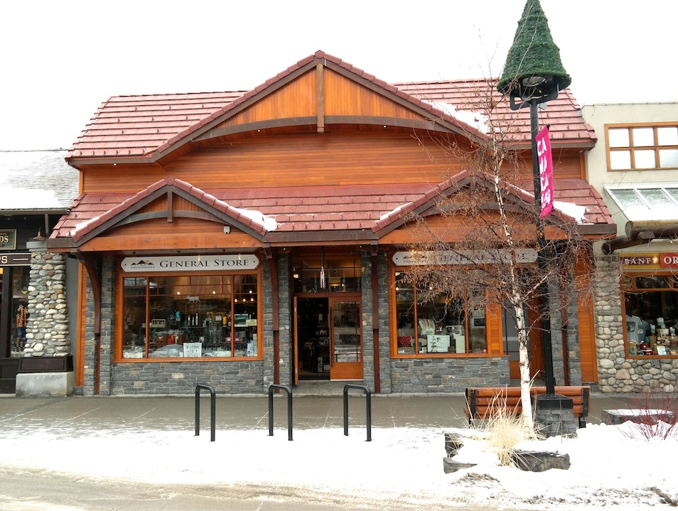 Banff Provisions General Store Banff  Canada