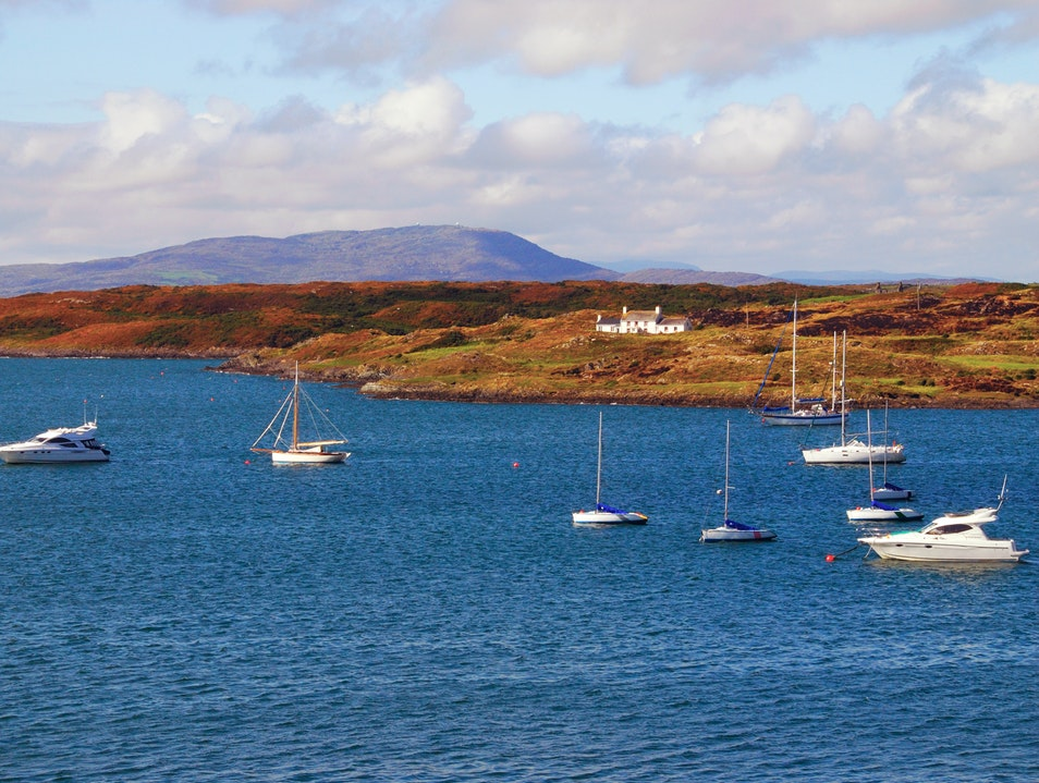 Harbor in Autumn - Baltimore, County Cork, Ireland Cork  Ireland