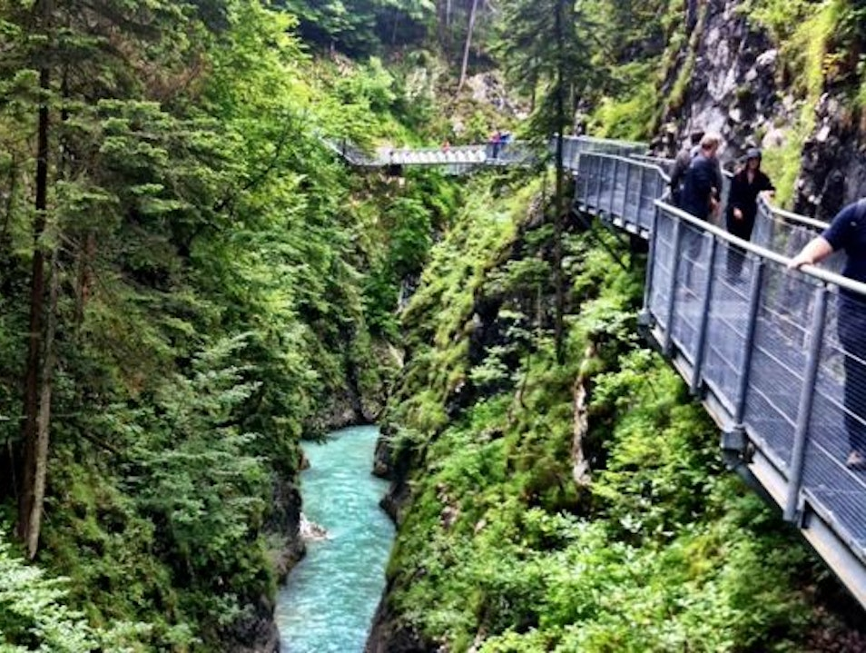 Hiking the Leutasch Gorge in Search of Ghosts and Goblins Mittenwald  Germany