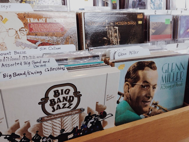 """Fiercely Independent"" Record Shop"