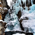 Johnston Canyon Icewalk Banff National Park  Canada