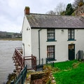 Dylan Thomas Boathouse Laugharne  United Kingdom