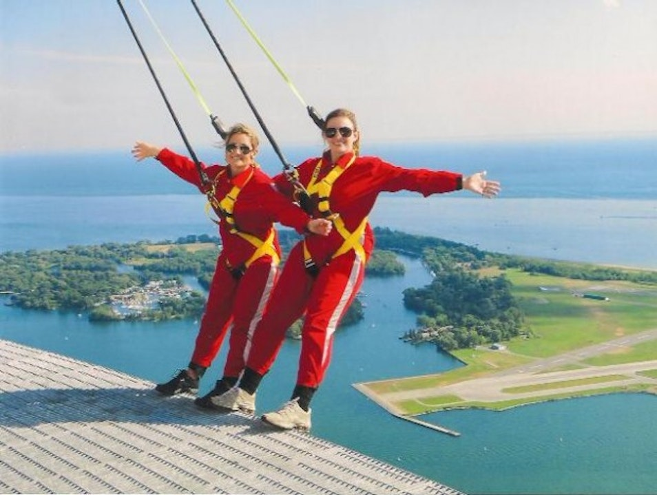 CN Tower Edgewalk - Just do it!    Canada