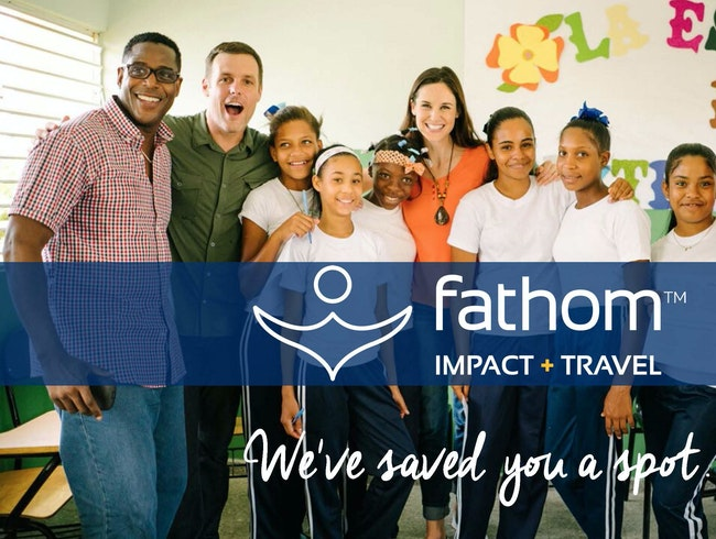 Experience Impact Travel with Fathom