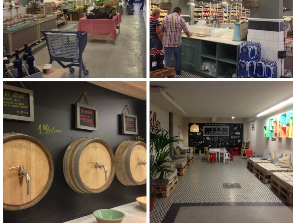 Shop for fresh regional produce and artisan foods