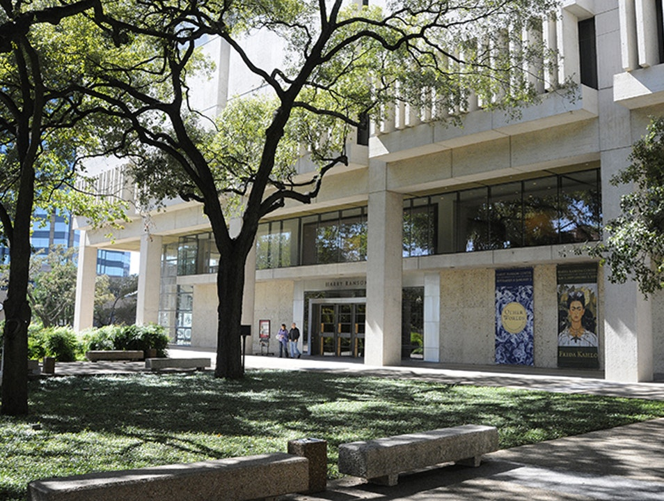 Harry Ransom Center Austin Texas United States