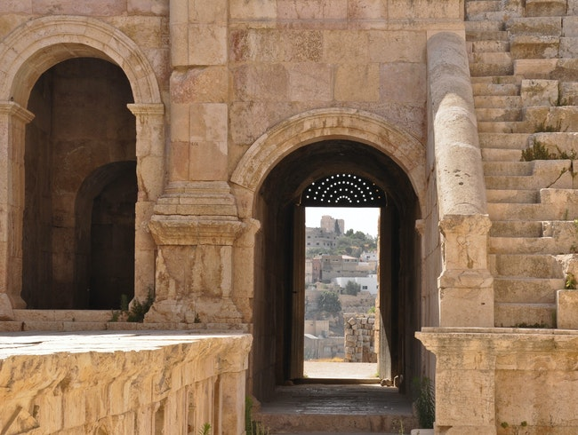 Ancient Roman City of Jerash