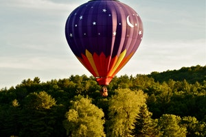 Balloons Over New England