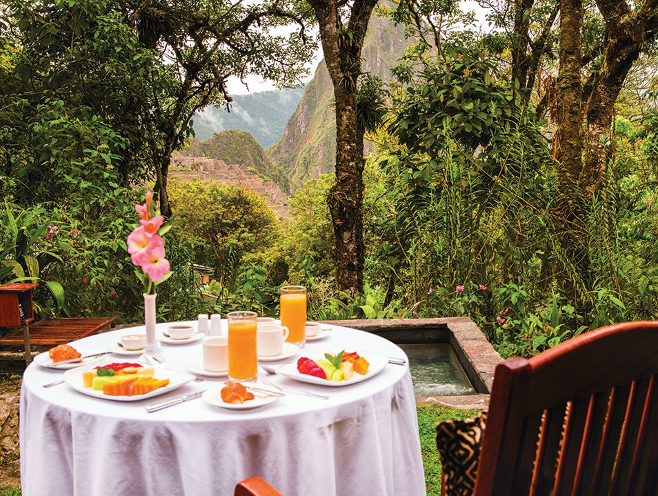 Belmond Sanctuary Lodge   Peru
