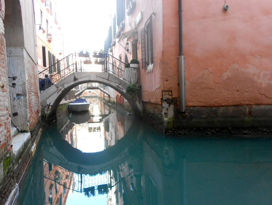 Calm Canals Venice  Italy