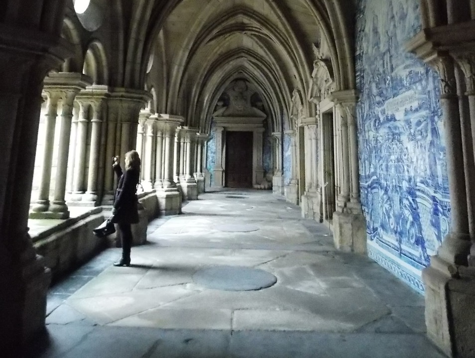 The Cloisters of Porto's Cathedral Porto  Portugal