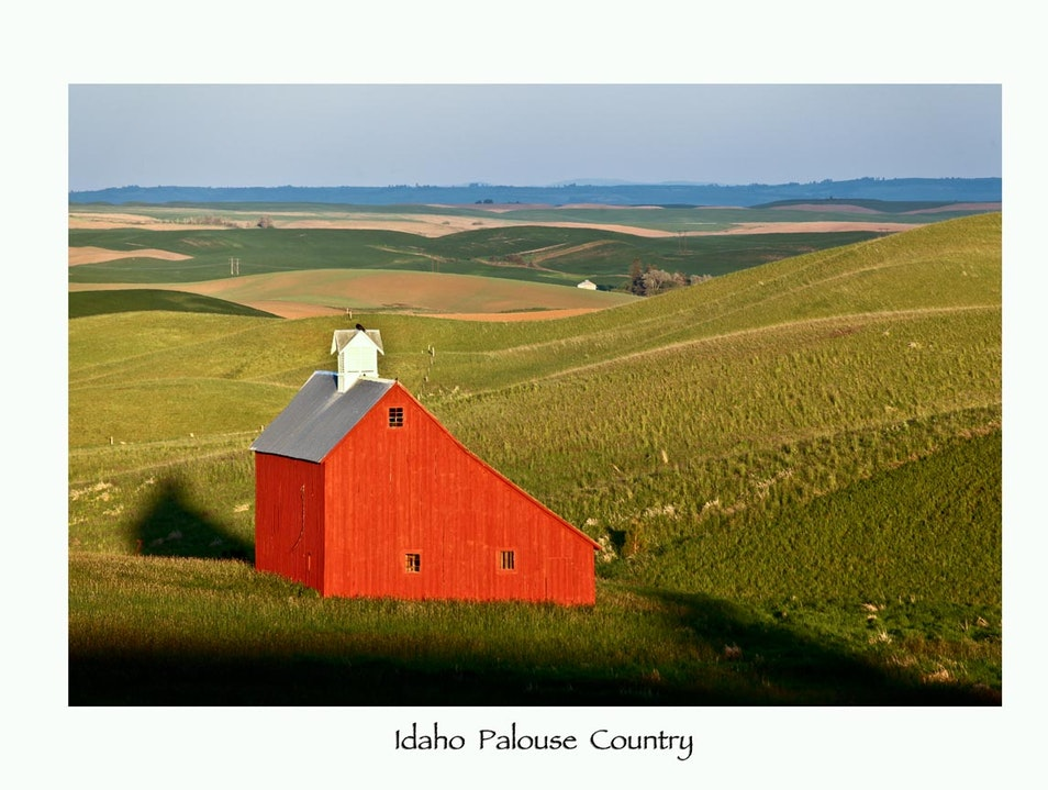 Palouse Country Scenic Byway Moscow Idaho United States