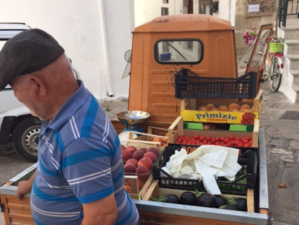 Another Type of Farmers Market Ostuni  Italy