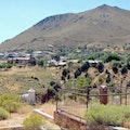 Silver Terrace Cemetery Virginia City Nevada United States