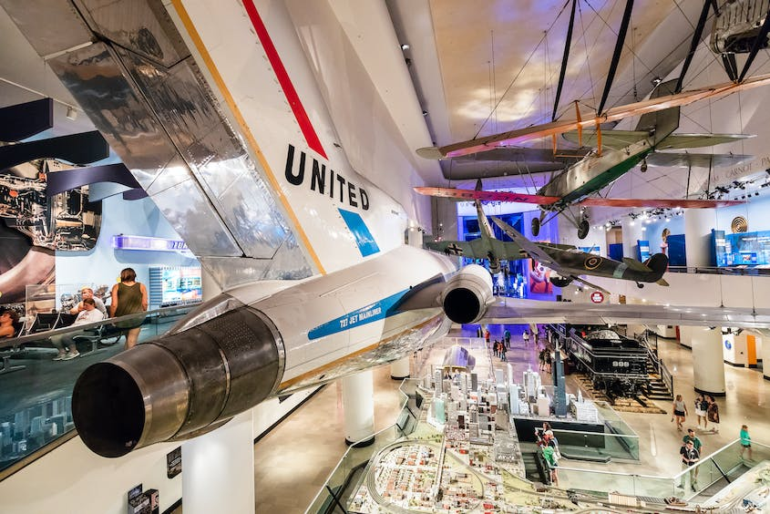 The Museum of Science and Industry features everything from a U-505 submarine to a massive model train.