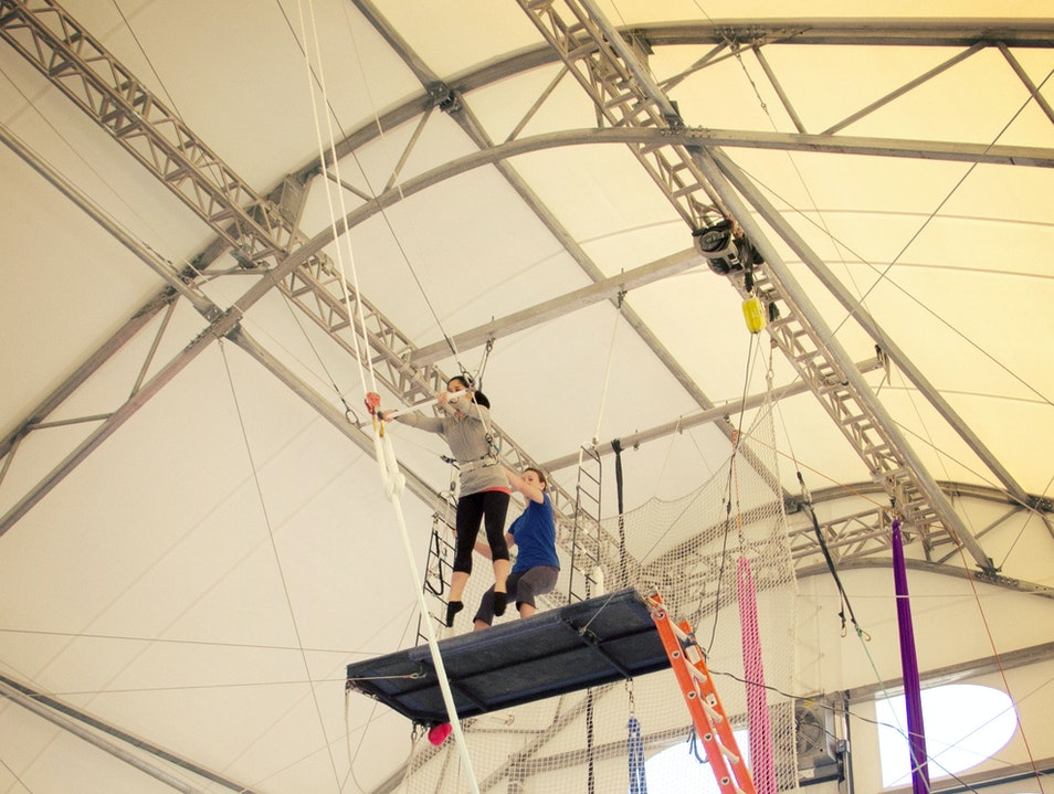 Learning the Flying Trapeze