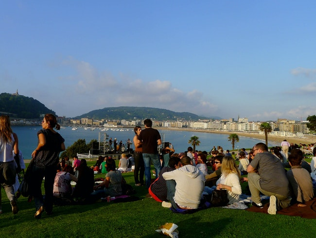 """Music in the Park"" in San Sebastián"