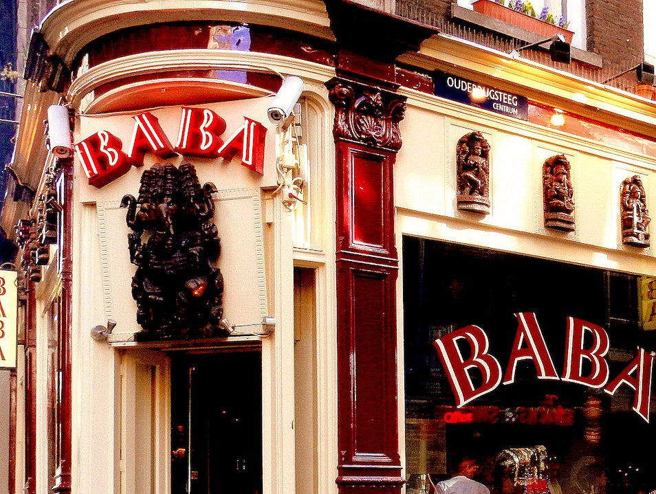 Shopping With a Buzz at Baba Amsterdam  The Netherlands