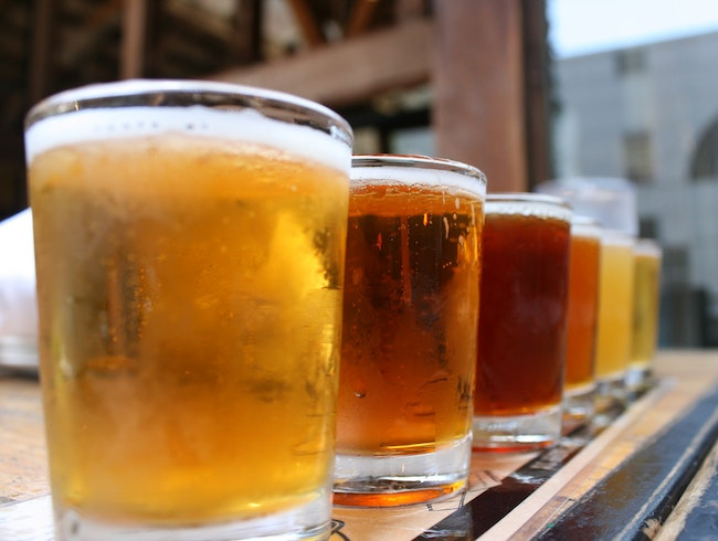 Sample Local and International Craft Beers