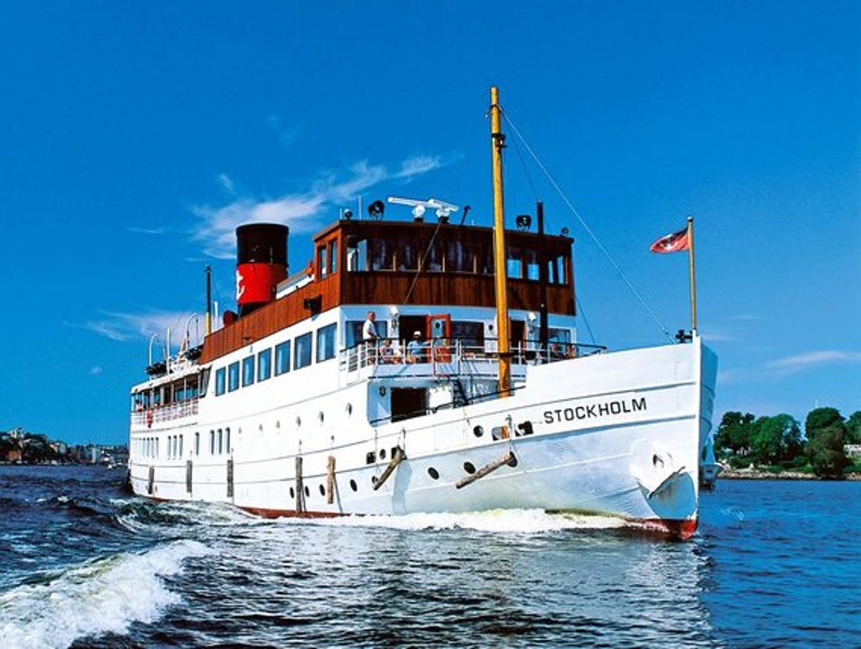 Archipelago Cruises with Stromma Stockholm  Sweden