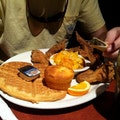 Gladys Knight & Ron Winans' Chicken & Waffles Atlanta Georgia United States
