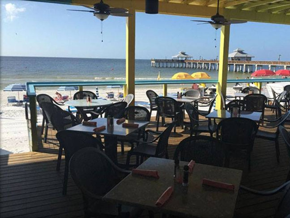 Sunset Beach Tropical Grill & The Playmore Tiki Bar Fort Myers Beach Florida United States