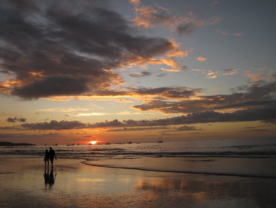 Sunsets are Always Free in Costa Rica Tamarindo  Costa Rica