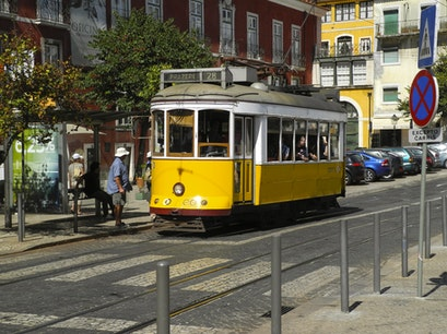 Trolley # 28 Lisbon  Portugal