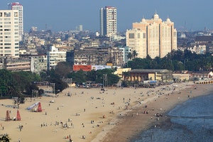 Marine Drive and Chowpatty Beach