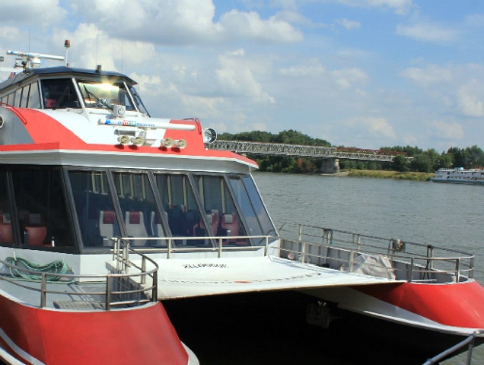 Whizzing From Vienna to Bratislava by Highspeed Catamaran Vienna  Austria