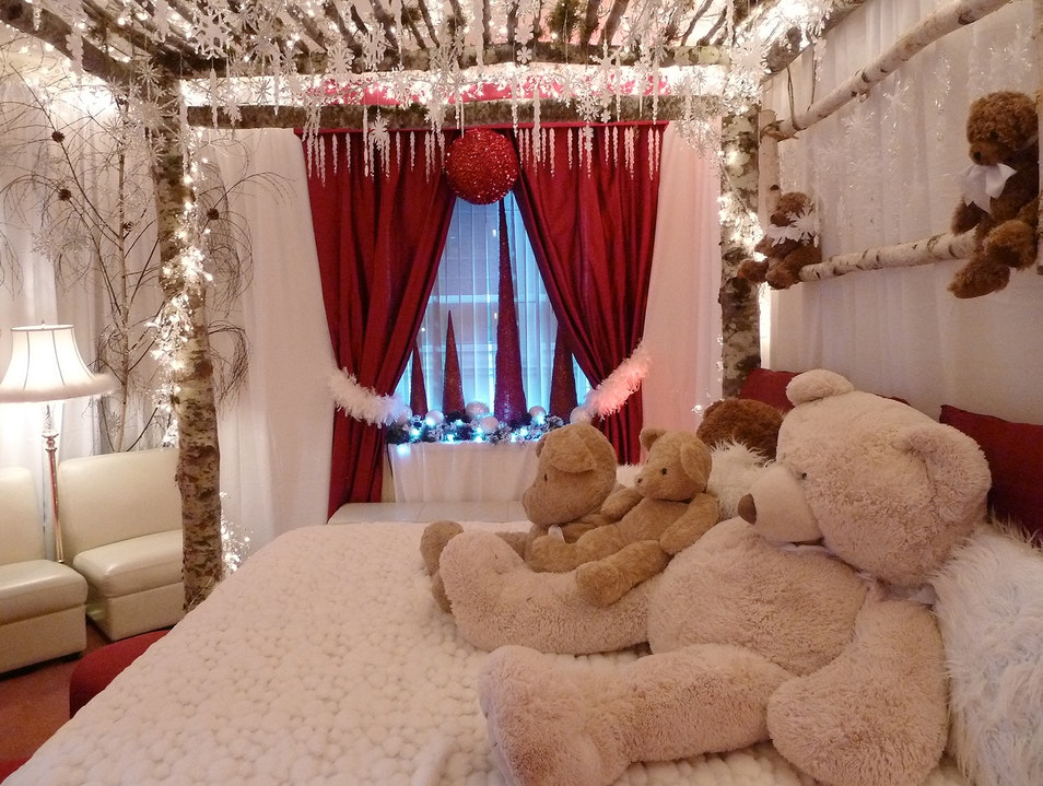 Get Cuddly at the Fairmont's Teddy Bear Suite Seattle Washington United States