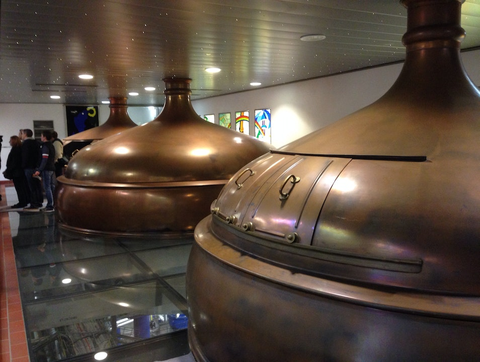 A Tour of the Brewery is Always a Treat!