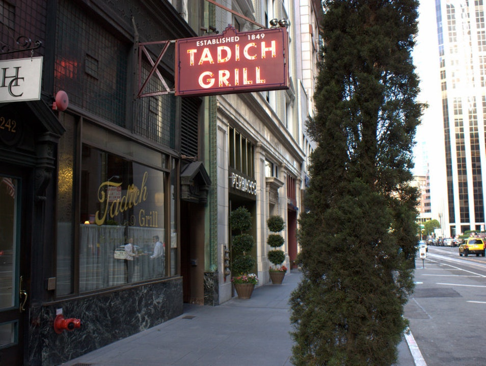 Tadich Grill: A San Francisco Classic for Seafood San Francisco California United States