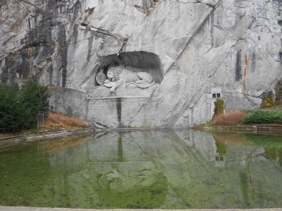Lion Monument Luzern  Switzerland