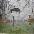 Lion Monument Lucerne  Switzerland
