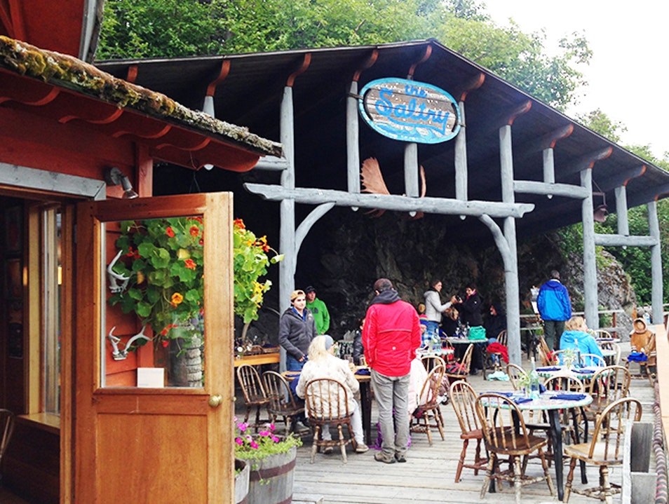 The Saltry Restaurant Halibut Cove Alaska United States