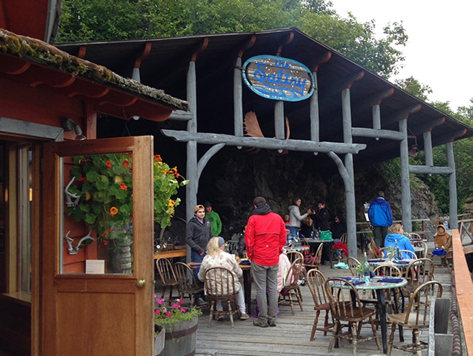The Saltry Restaurant Homer Alaska United States