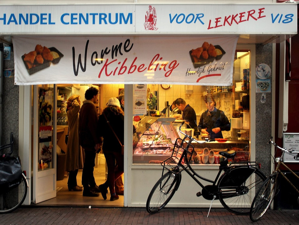 There's Something Fishy About This Fast Food Amsterdam  The Netherlands