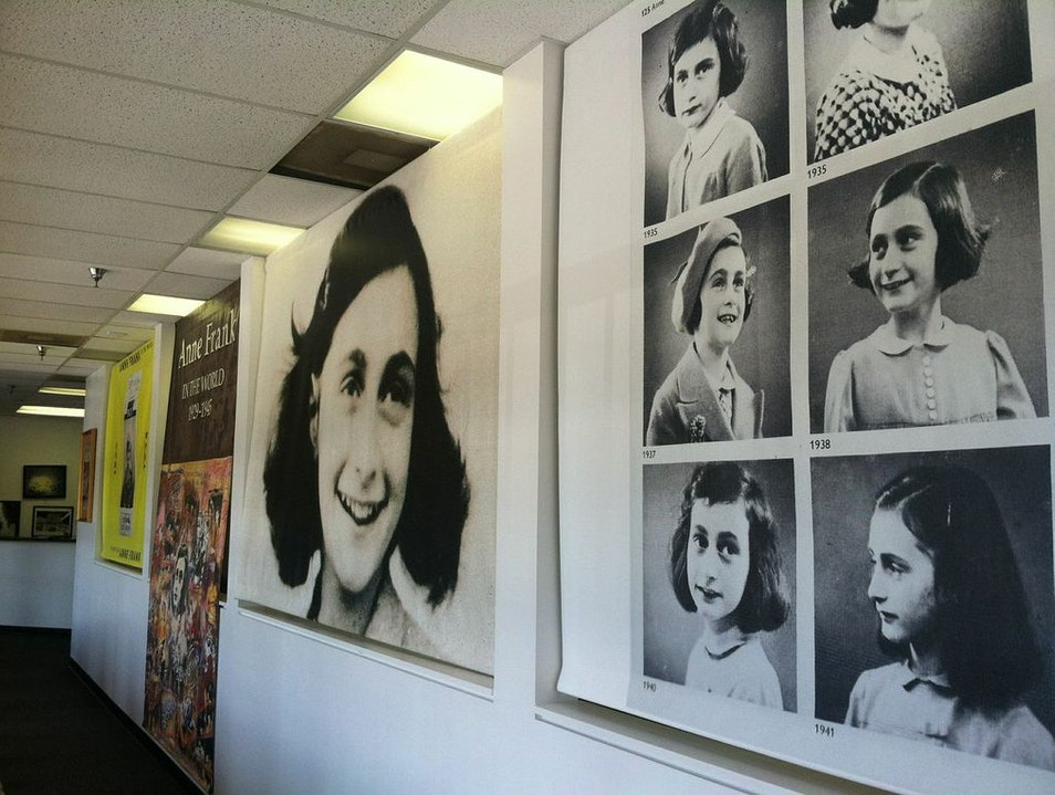 Off-the-Beaten-Path Museum Dedicated to Anne Frank Sandy Springs Georgia United States