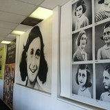 Anne Frank in the World exhibit