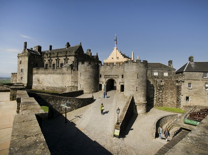 Stirling Castle Esplanade  United Kingdom