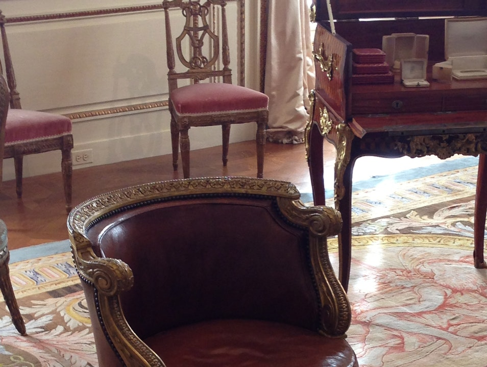 Marie Antoinette's Dressing Chair